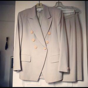 Vintage Dior Jacket and Skirt Set (Size 12)